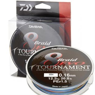 Daiwa Tournament 8B Evo DG 135m Spin Lrf İp Misina