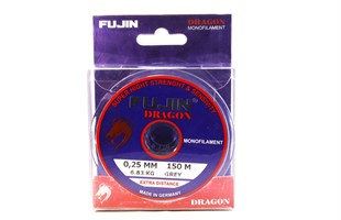 FUJIN Dragon 150mt Monofilament Grey Spin Lrf Misina