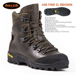 Orizo 405 Fire Dark Brown Bot