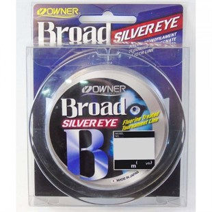 Owner Broad Silver Eye 150mt Monofilament Spin Lrf Misina